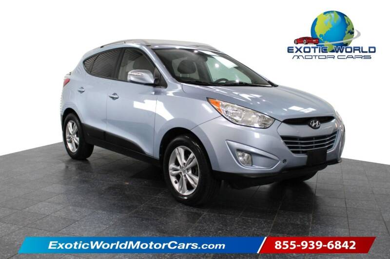 2013 Hyundai Tucson for sale at Exotic World Motor Cars in Addison TX