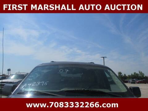 2007 Ford Explorer for sale at First Marshall Auto Auction in Harvey IL