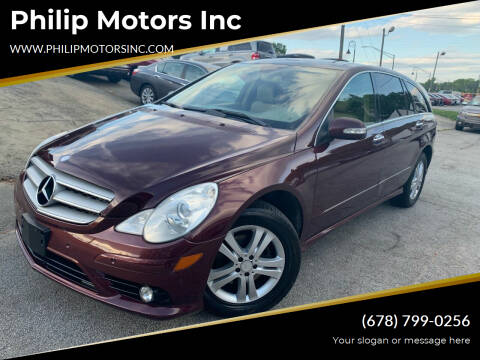 2008 Mercedes-Benz R-Class for sale at Philip Motors Inc in Snellville GA
