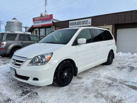 2007 Honda Odyssey for sale at WINDOM AUTO OUTLET LLC in Windom MN