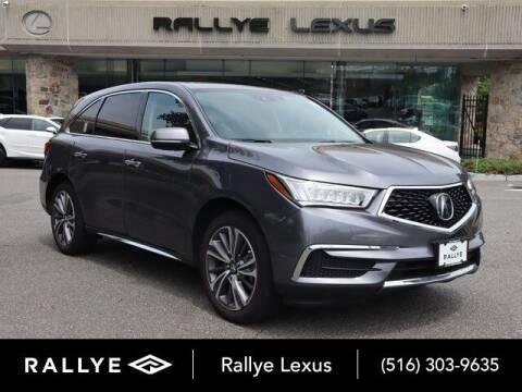 2019 Acura MDX for sale at RALLYE LEXUS in Glen Cove NY