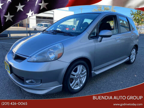 2007 Honda Fit for sale at BUENDIA AUTO GROUP in Hasbrouck Heights NJ