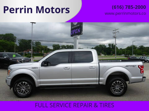 2018 Ford F-150 for sale at Perrin Motors in Comstock Park MI
