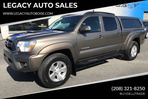 2012 Toyota Tacoma for sale at LEGACY AUTO SALES in Boise ID