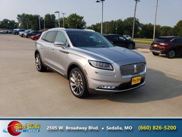 2021 Lincoln Nautilus for sale at RICK BALL FORD in Sedalia MO