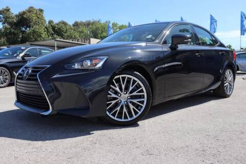 2017 Lexus IS 200t for sale at OCEAN AUTO SALES in Miami FL