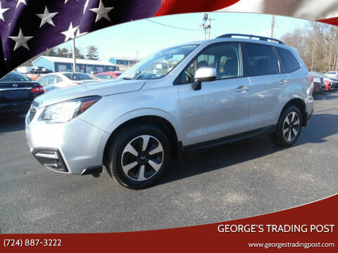 2017 Subaru Forester for sale at GEORGE'S TRADING POST in Scottdale PA