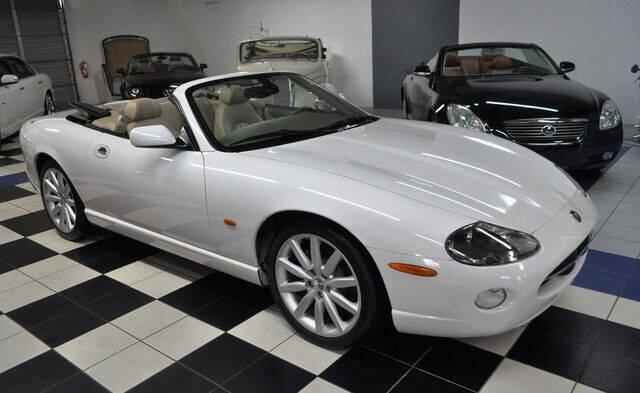 2006 Jaguar XK-Series for sale at Podium Auto Sales Inc in Pompano Beach FL