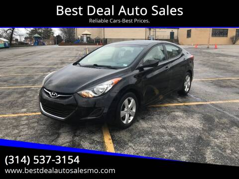 2011 Hyundai Elantra for sale at Best Deal Auto Sales in Saint Charles MO