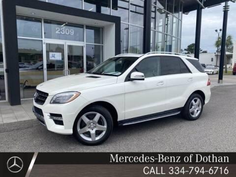 2014 Mercedes-Benz M-Class for sale at Mike Schmitz Automotive Group in Dothan AL