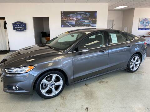 2015 Ford Fusion for sale at Used Car Outlet in Bloomington IL