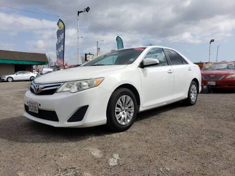 2012 Toyota Camry for sale at LR AUTO INC in Santa Ana CA