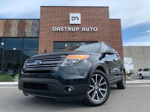 2015 Ford Explorer for sale at Dastrup Auto in Lindon UT
