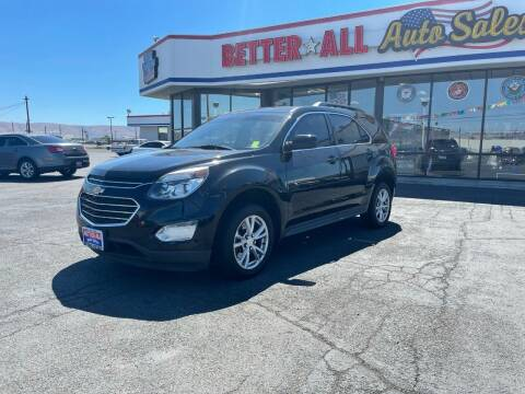 2017 Chevrolet Equinox for sale at Better All Auto Sales in Yakima WA