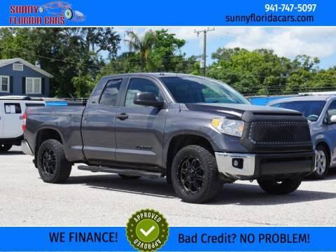 2017 Toyota Tundra for sale at Sunny Florida Cars in Bradenton FL