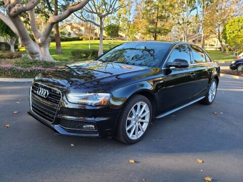 2014 Audi A4 for sale at E MOTORCARS in Fullerton CA