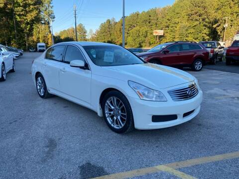 2008 Infiniti G35 for sale at Galaxy Auto Sale in Fuquay Varina NC