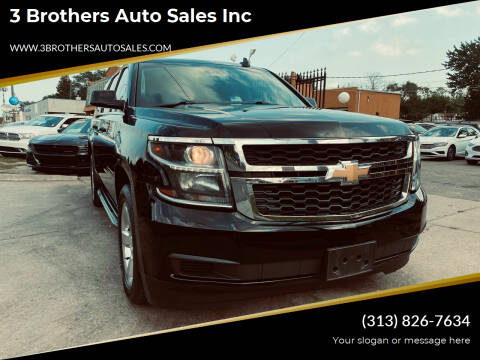 2017 Chevrolet Suburban for sale at 3 Brothers Auto Sales Inc in Detroit MI