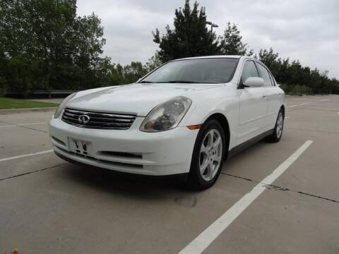 2003 Infiniti G35 for sale at 123 Car 2 Go LLC in Dallas TX