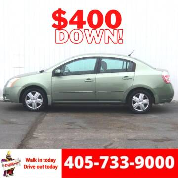 2008 Nissan Sentra for sale at Credit Connection Auto Sales in Midwest City OK