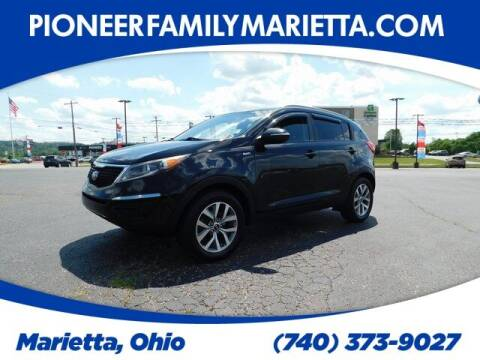 2015 Kia Sportage for sale at Pioneer Family preowned autos in Williamstown WV