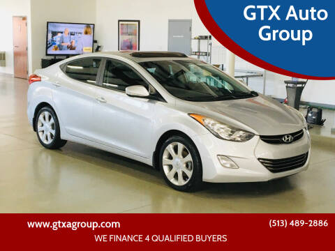 2013 Hyundai Elantra for sale at GTX Auto Group in West Chester OH