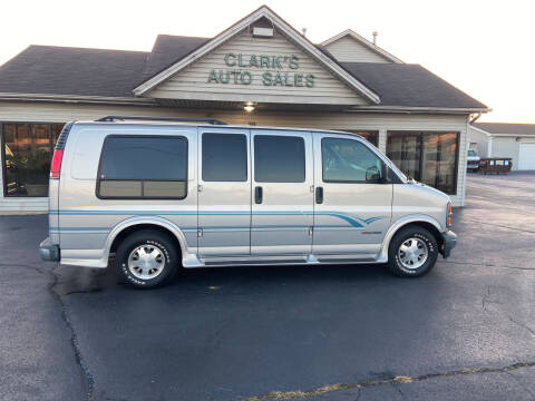 1997 GMC Savana for sale at Clarks Auto Sales in Middletown OH