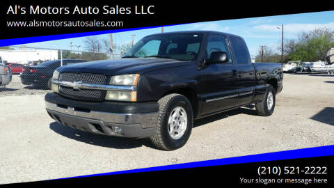 2004 Chevrolet Silverado 1500 for sale at Al's Motors Auto Sales LLC in San Antonio TX