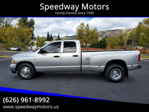 2003 Dodge Ram Pickup 3500 for sale at Speedway Motors in Glendora CA