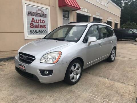 2009 Kia Rondo for sale at Ridetime Auto in Suffolk VA