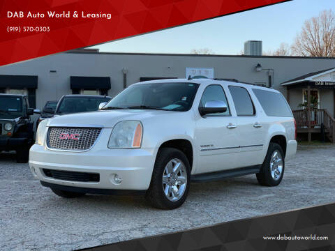 2012 GMC Yukon XL for sale at DAB Auto World & Leasing in Wake Forest NC
