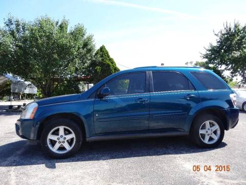 2008 Chevrolet Equinox for sale at HOUSTON'S BEST AUTO SALES in Houston TX