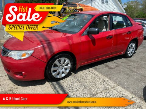 2008 Subaru Impreza for sale at A & R Used Cars in Clayton NJ