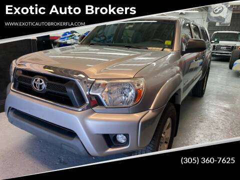 2015 Toyota Tacoma for sale at Exotic Auto Brokers in Miami FL