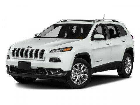 2016 Jeep Cherokee for sale at Gary Uftring's Used Car Outlet in Washington IL