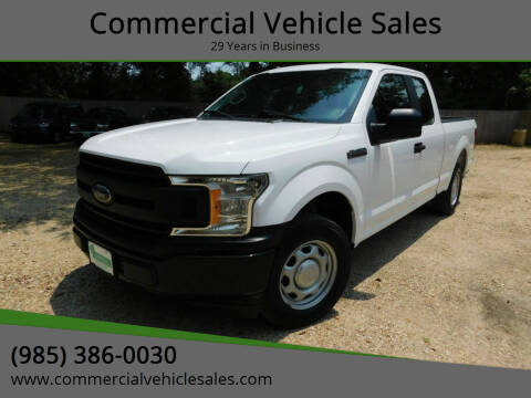 2018 Ford F-150 for sale at Commercial Vehicle Sales in Ponchatoula LA