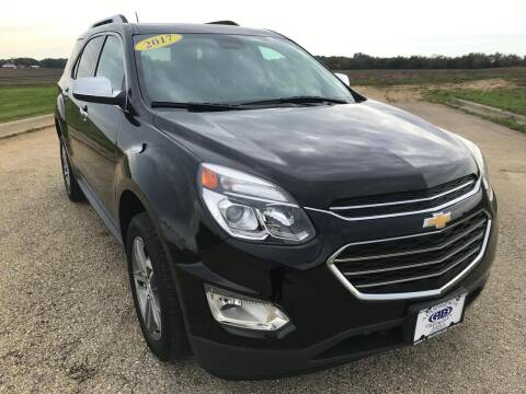 2017 Chevrolet Equinox for sale at Alan Browne Chevy in Genoa IL