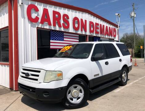 2007 Ford Expedition for sale at Cars On Demand 2 in Pasadena TX