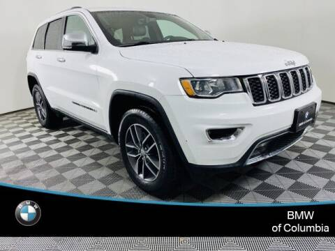 2017 Jeep Grand Cherokee for sale at Preowned of Columbia in Columbia MO