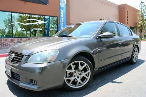 2006 Nissan Altima for sale at CK Motors in Murrieta CA