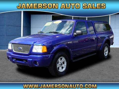 2003 Ford Ranger for sale at Jamerson Auto Sales in Anderson IN