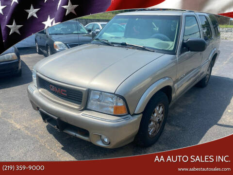1998 GMC Envoy for sale at AA Auto Sales Inc. in Gary IN