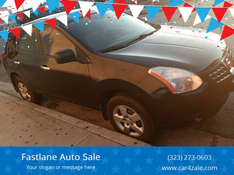 2010 Nissan Rogue for sale at Fastlane Auto Sale in Los Angeles CA
