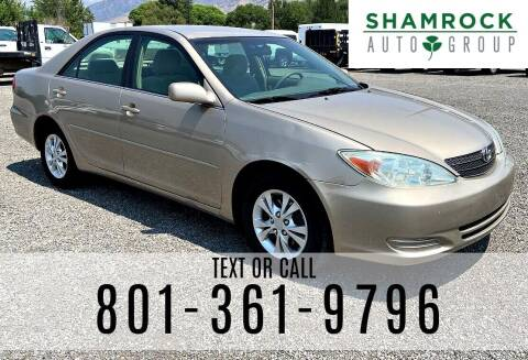 2004 Toyota Camry for sale at Shamrock Group LLC #1 in Pleasant Grove UT