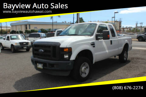 2009 Ford F-250 Super Duty for sale at Bayview Auto Sales in Waipahu HI
