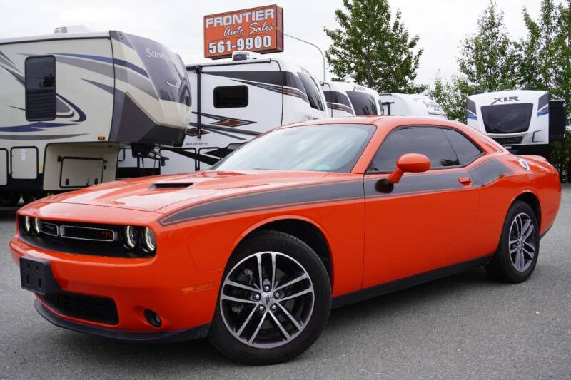 2019 Dodge Challenger for sale at Frontier Auto & RV Sales in Anchorage AK