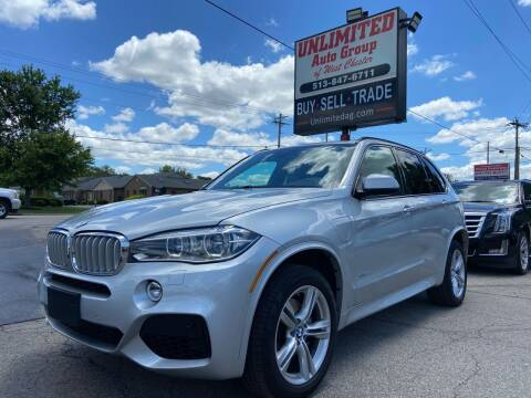 2016 BMW X5 for sale at Unlimited Auto Group in West Chester OH