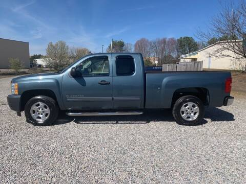 2009 Chevrolet Silverado 1500 for sale at MEEK MOTORS in North Chesterfield VA