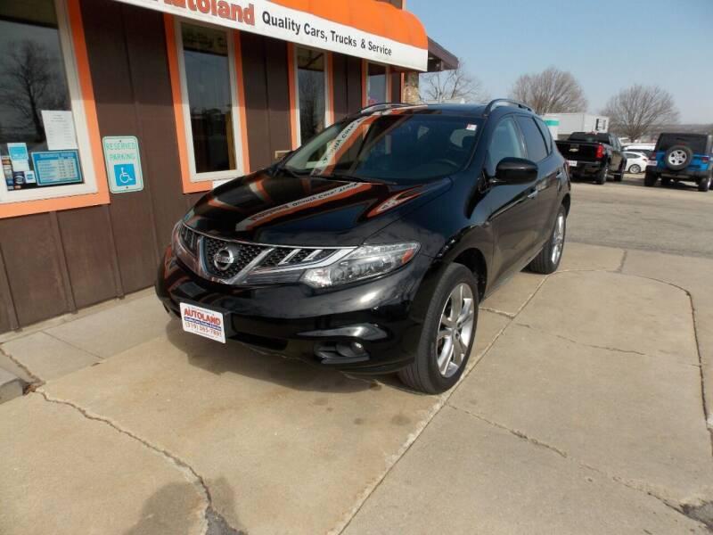 2011 Nissan Murano for sale at Autoland in Cedar Rapids IA