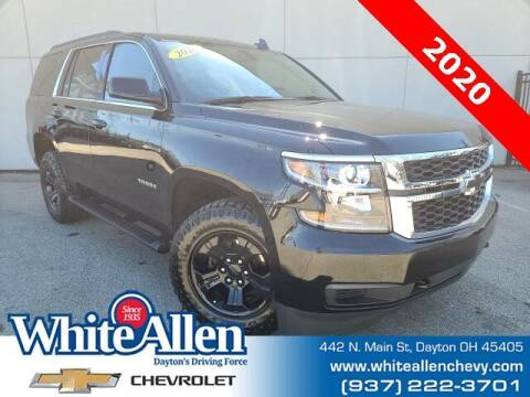 2020 Chevrolet Tahoe for sale at WHITE-ALLEN CHEVROLET in Dayton OH